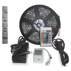 Kit tira de led rgb 5 metros