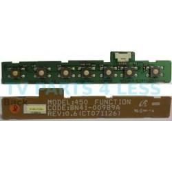 Botonera Samsung BN96-07269a